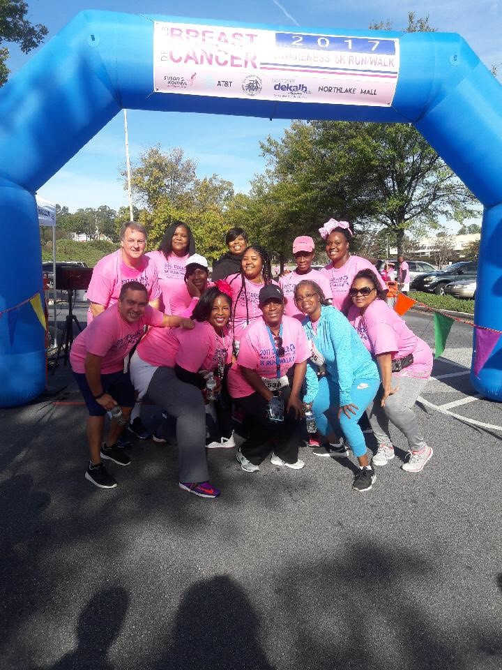 2017 Breast Cancer Walks