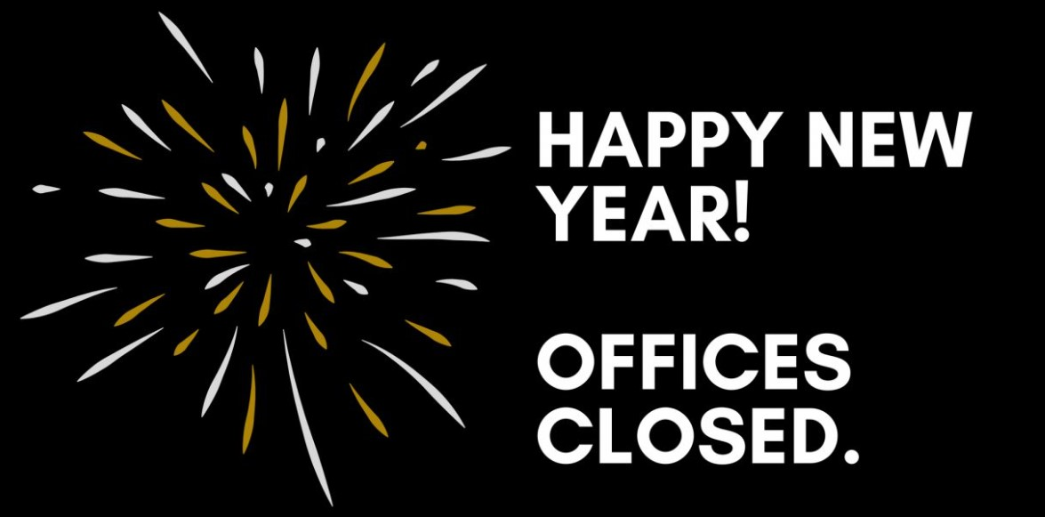 New Year's Day Closing