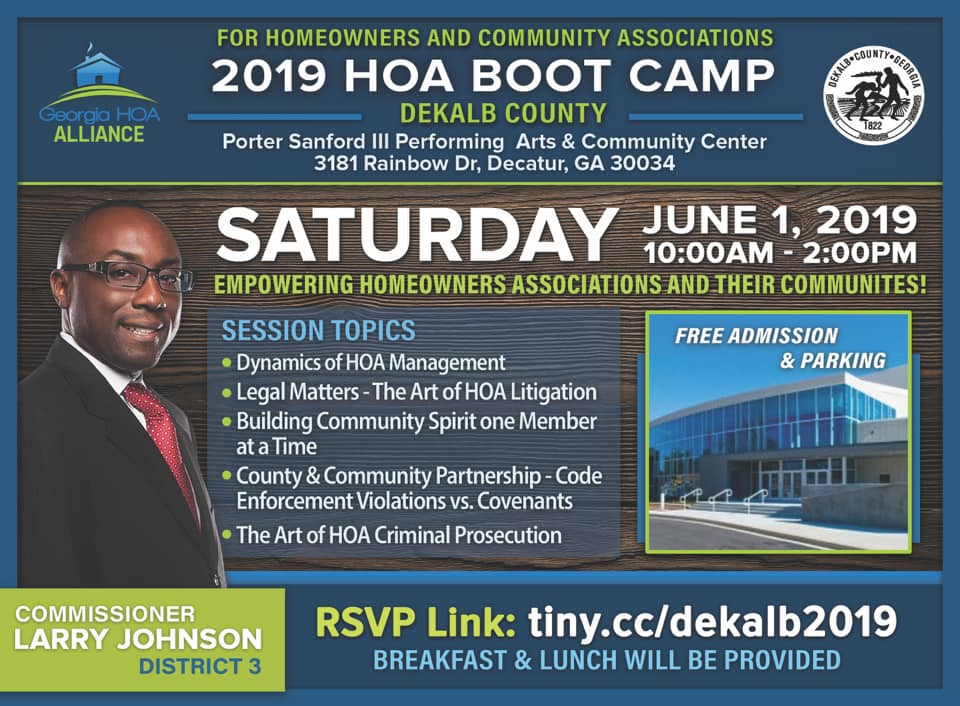 2019 HOA Boot Camp