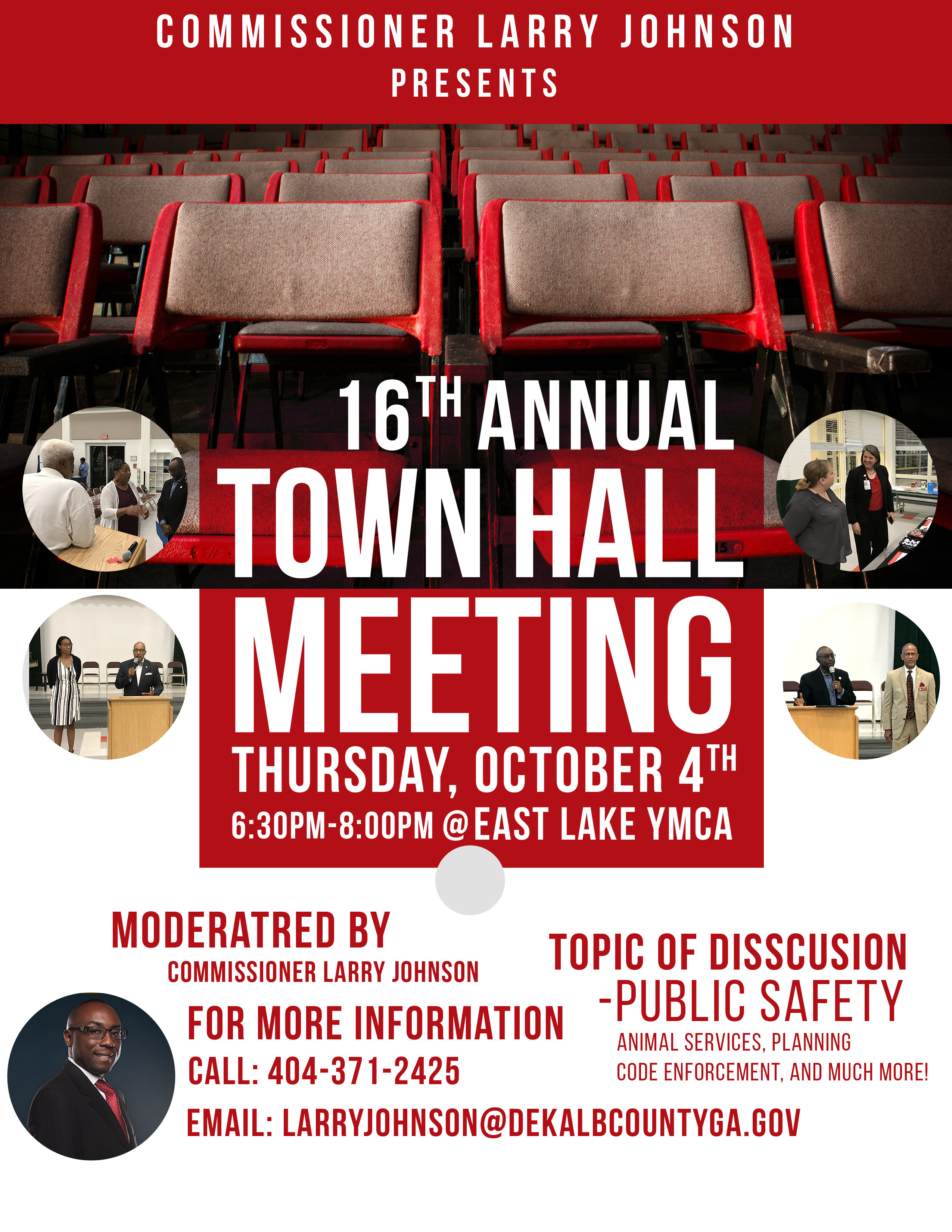 16th Annual Town Hall Meeting